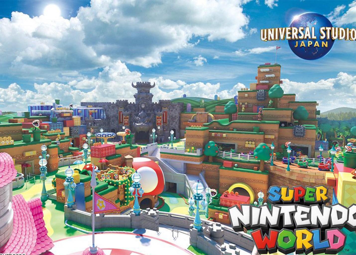 Universal Japão inaugura Super Nintendo World no início de 2021