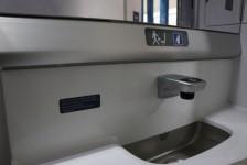 Delta instala iluminação antimicrobiana nos banheiros dos aviões