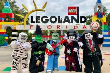 Legoland Florida realiza evento de Halloween nos fins de semana de outubro