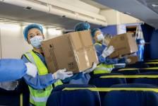 KLM chega a marca de 100 voos realizados com cargas na cabine de passageiros