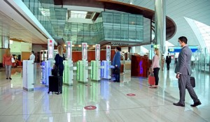 Emirates lança caminho biométrico no aeroporto de Dubai