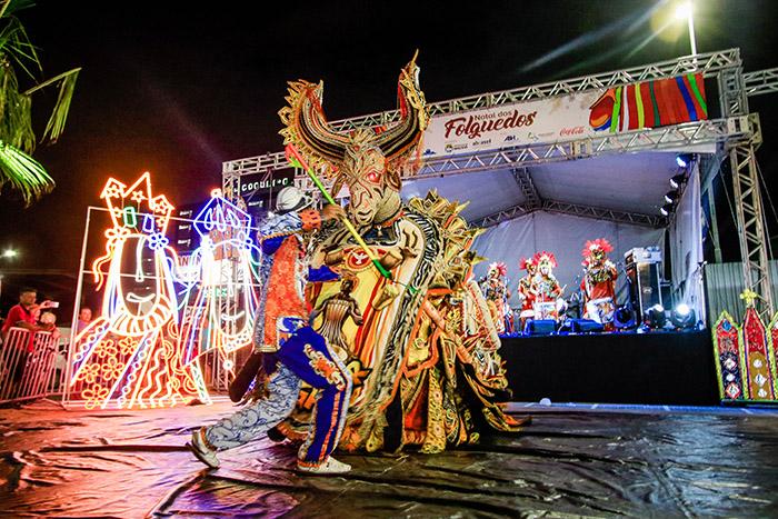 O Natal dos Folguedos tem por objetivo mostrar a cultura alagoana para os moradores e os turistas que visitam Maceió. Foto: Pei Fon/ Secom Maceió