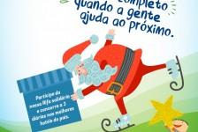 Bancorbrás lança rifa solidária em campanha de Natal