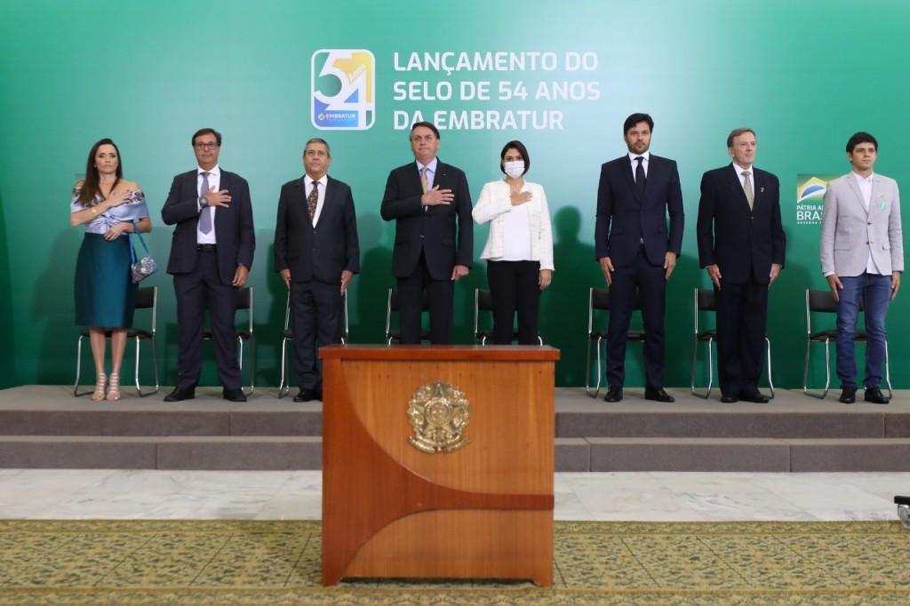 Cerimônia contou com a presença do presidente Jair Bolsonaro
