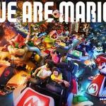 Atração do Mario Kart
