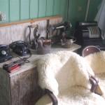 Mobiliário de época na Casa da Ovelha