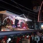 Papai Noel abre comemorações de Natal todos os dias
