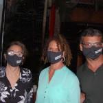 Rosa Maria Barata, agente de viagem da RMB; Lúcia Silva, da Mary Turismo; e Carlos Alexandre, da Dunes Barra Turismo
