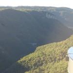Vista do Vale e seus desfiladeiros