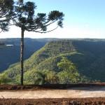 Vista panorâmica do Vale da Ferradura