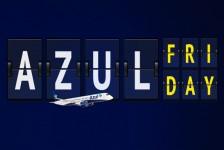 Azul Friday tem descontos em passagens, pacotes e no resgate de pontos