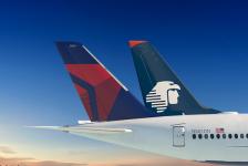 Delta e Aeroméxico vão operar 4,3 mil voos entre México e EUA em dezembro