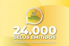 Mais de 24 mil empreendimentos já possuem o 'Selo Turismo Responsável'