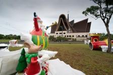 Natal de Luzes da Itaipu começa neste sábado (5) com direito a visita drive-thru
