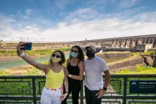 Usina de Itaipu recebe mais de 30 mil pessoas em julho