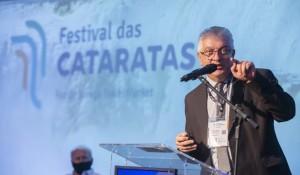 Em cerimônia de abertura, Festival das Cataratas celebra retomada do Turismo; veja fotos