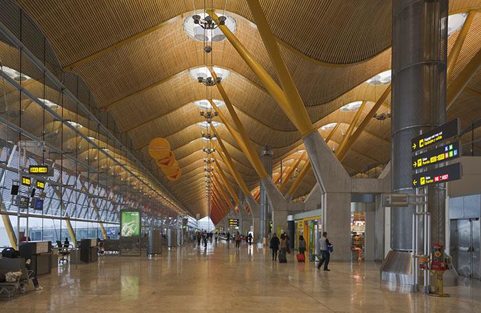 Aeroporto Madrid-Barajas foi o que mais perdeu conectividade.