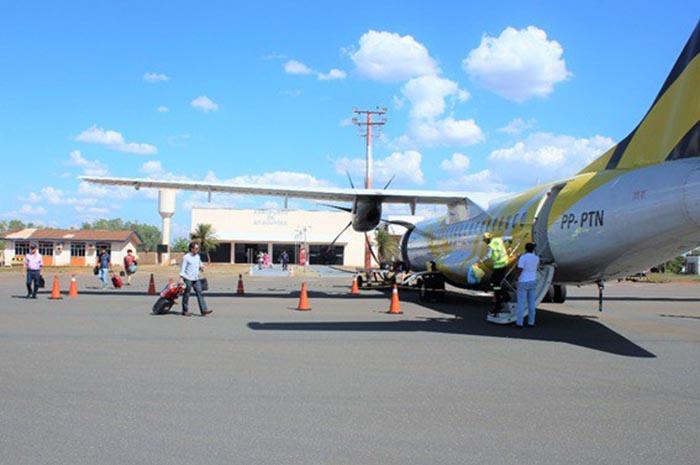 Somente na primeira etapa das obras no Aeroporto de Araguaína (TO) investimento será de mais de R$ 13 milhões