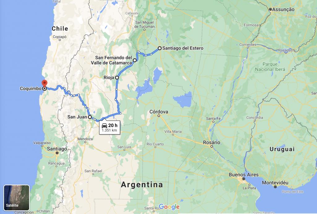 Ruta del vino de Argentina y Chile