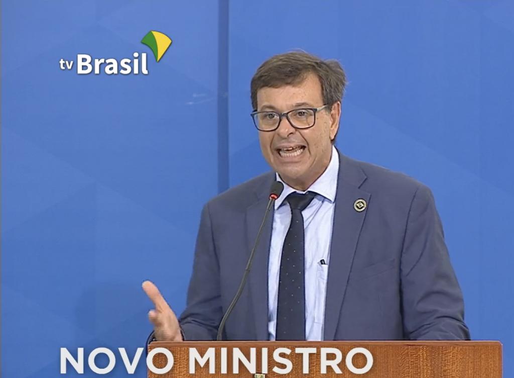 Gilson Machado Neto, durante a posse como ministro do Turismo