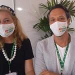 Cristina Lira e Bruno Reis, da Emprotur RN