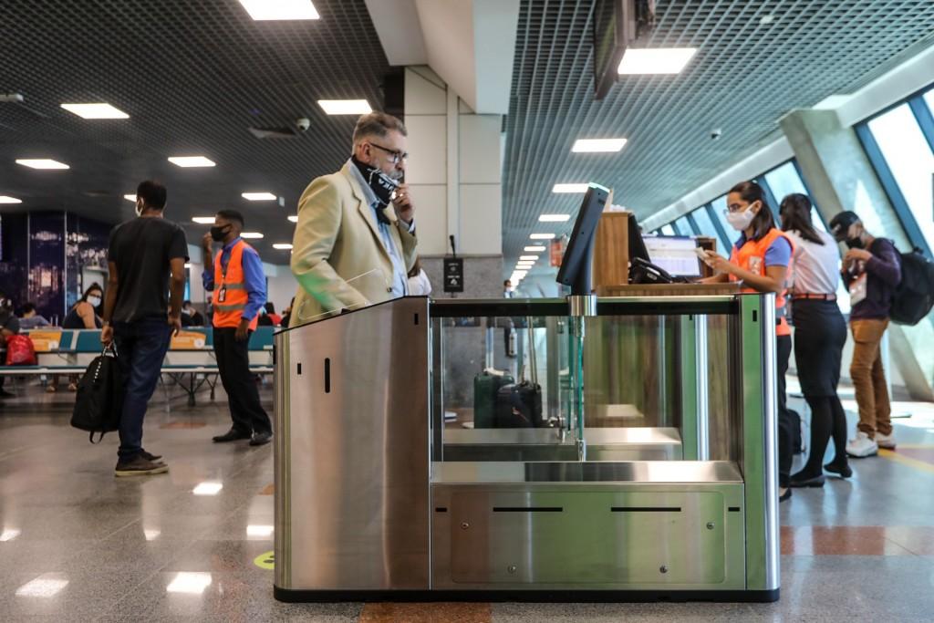 Embarque biométrico no Aeroporto de Salvador teve início nesta segunda-feira (14)