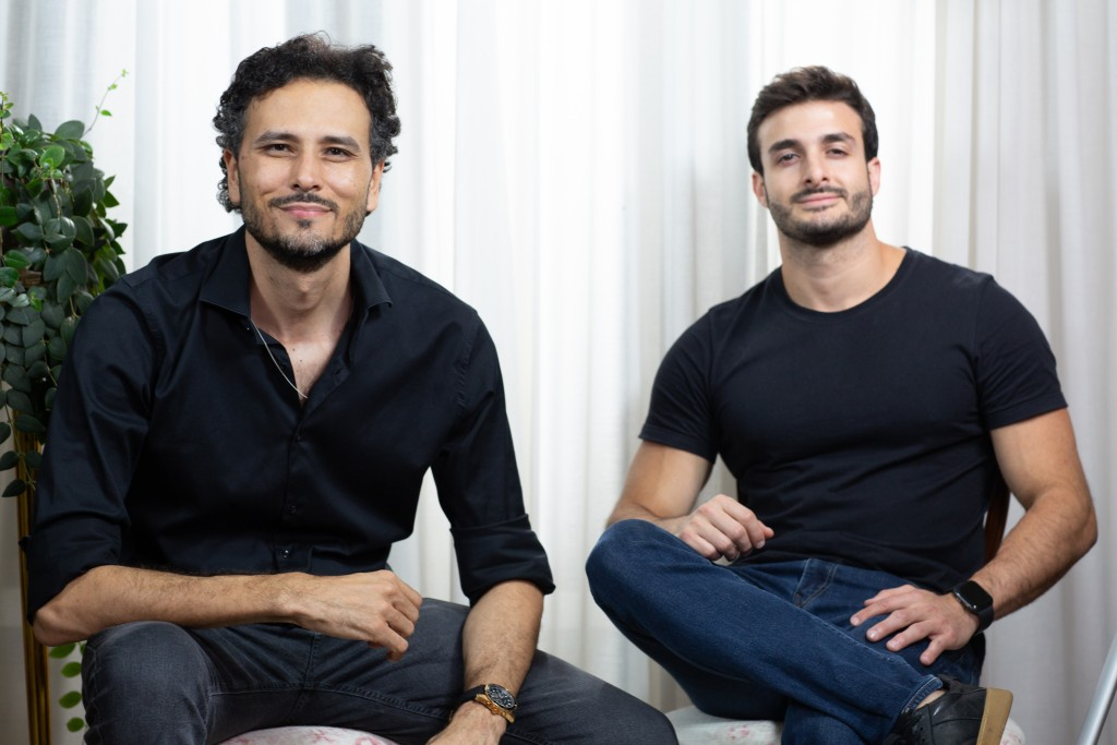 Fabio Mazini e Fabio Martiscelli, sócios do Grupo Fama Media