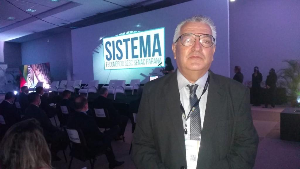 Paulo Angeli, organizador da feira