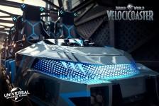 Universal divulga detalhes do carrinho da Jurassic World Velocicoaster