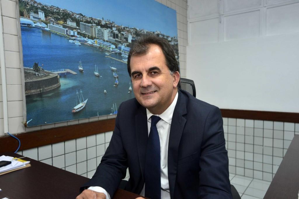 Fábio Rios Mota, secretário de Cultura e Turismo de Salvador