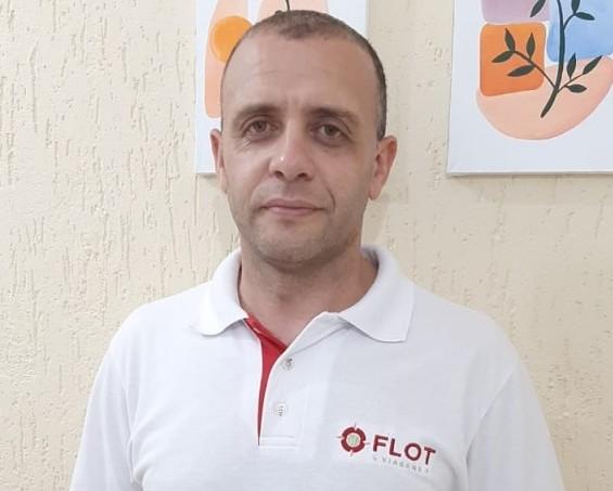 Isaías Pereira retorna à Flot Viagens
