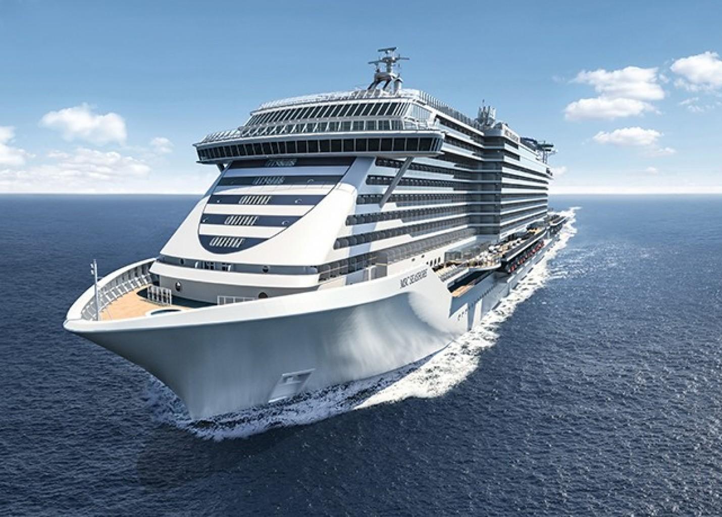 Seascape: MSC Cruzeiros anuncia nome de 2º navio da classe Seaside EVO