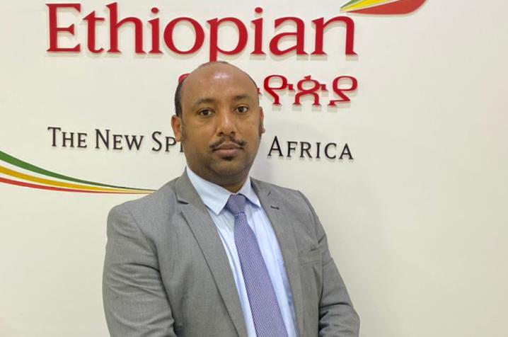 Michael Bekele, diretor geral da Ethiopian Airlines no Brasil