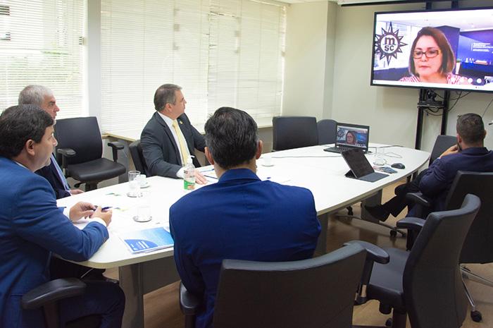 Reunião de Embratur com a Clia aconteceu nesta quinta-feira (14)