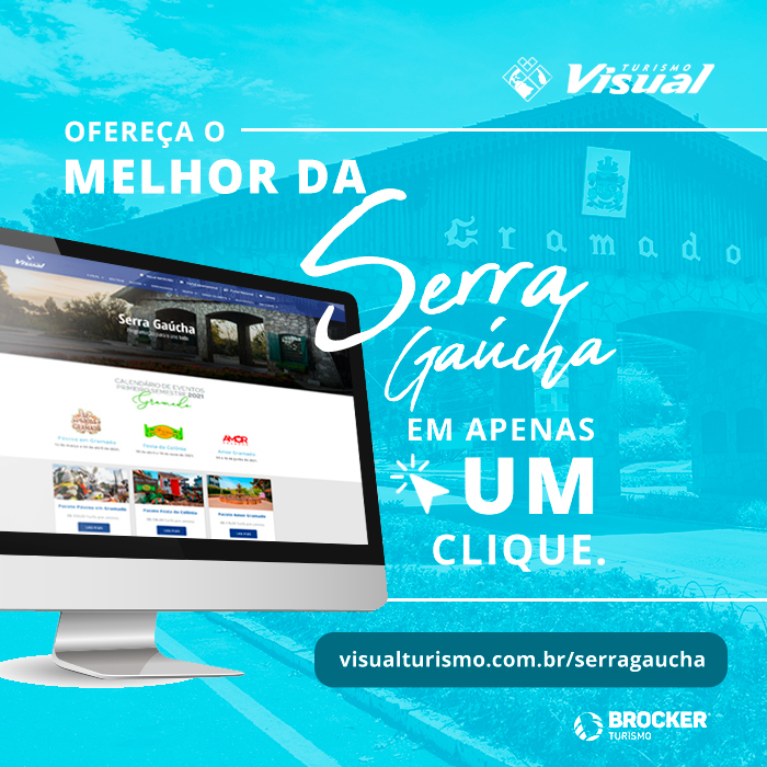Site traz informações e roteiros da Serra Gaúcha