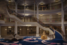 Disney Cruise Line revela detalhes do lobby do Disney Wish; vídeo