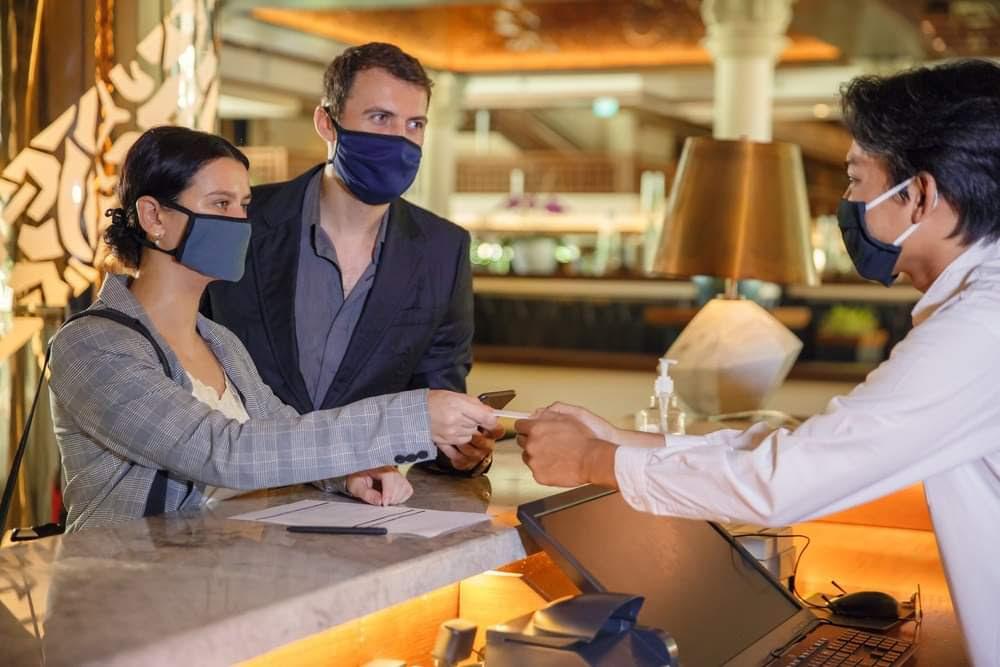 hotel recepção turismo covid coronavirus