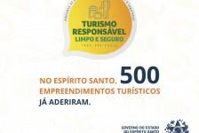Espírito Santo chega a 500 empreendimentos com selo 'Turismo Responsável'