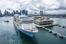 Royal Caribbean prolonga temporada do Quantum of the Seas na Ásia