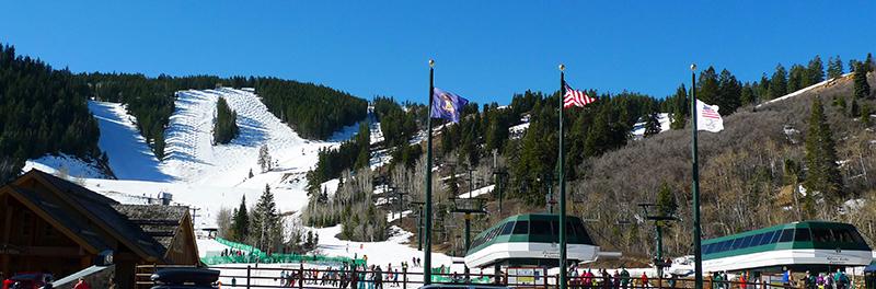 Deer Valley Resort uma das principais montanhas de esqui de Park City
