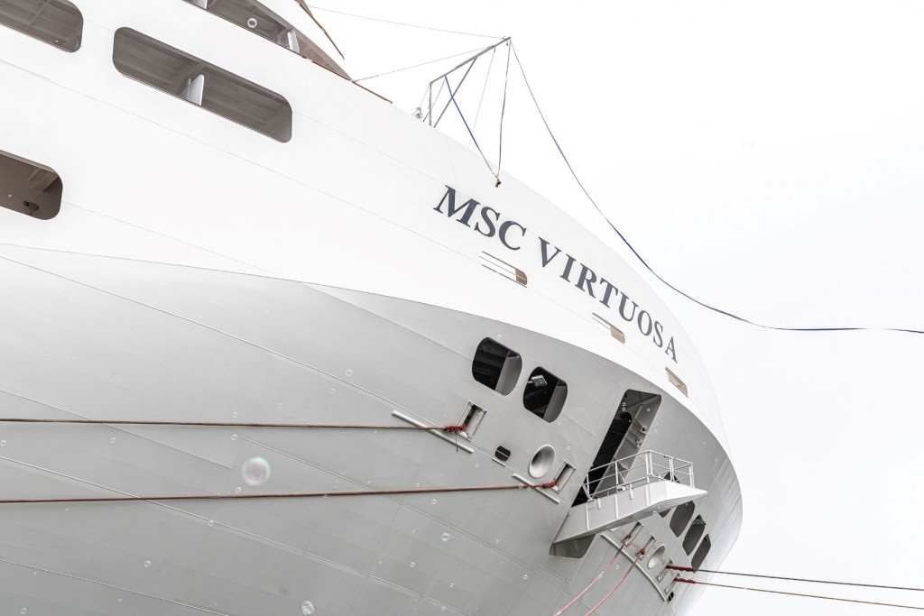 Entrega do MSC Virtuosa
