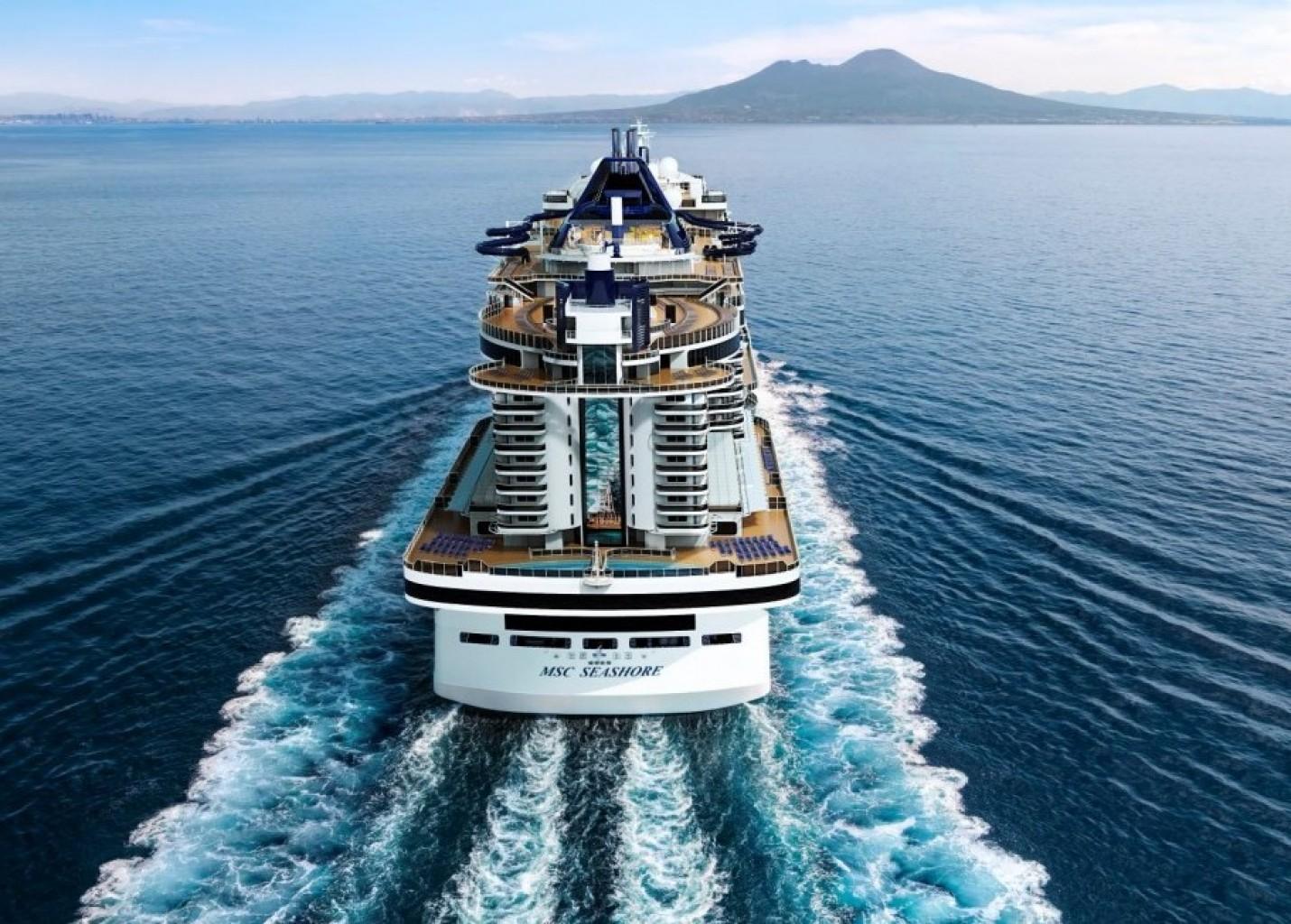 MSC Seashore estreia em agosto no Mediterrâneo; conheça o navio