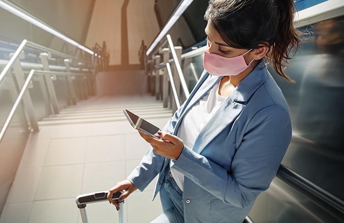 Viajantes também afirmaram que estão dispostos a utilizar passaportes digitais de saúde