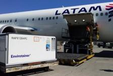 Latam transporta dois milhões de doses de vacina para o Rio