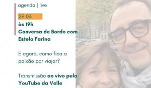 Velle recebe Estela Farina, da NCL, em live sobre cruzeiros no dia 29