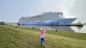 Royal Caribbean adia estreia do Odyssey of the Seas para maio