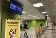 Aeroporto de Brasília instala nova câmera para medir temperatura de passageiros