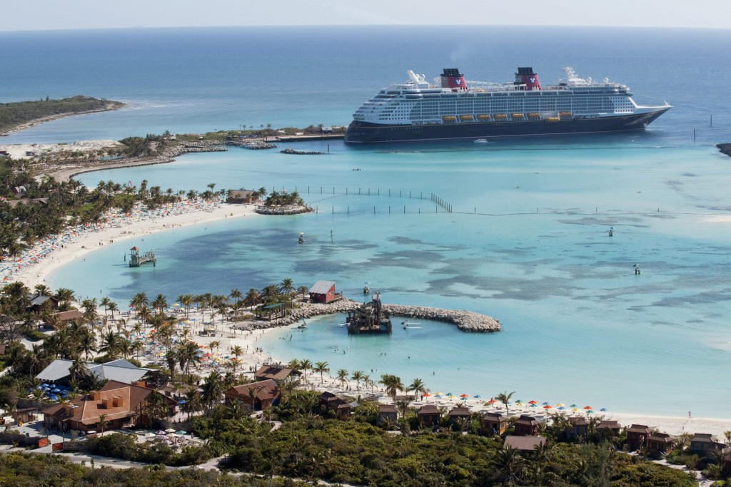 In the summer of 2021, most Caribbean and Bahamian itineraries will make a stop at Disney's award-winning pristine island, Castaway Cay. Reserved exclusively for Disney Cruise Line guests, the 1,000-acre island offers one-of-a-kind areas and activities for every member of the family. (David Roark, photographer)
