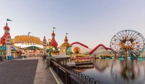 Parques temáticos da Califórnia passam a receber visitantes de outros estados