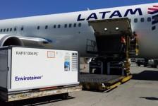 Latam Cargo transporta mais de 1,9 milhão de vacinas para 24 estados